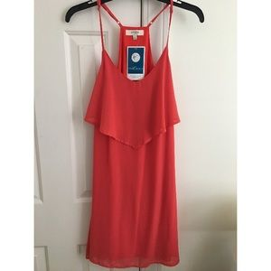 Dresses & Skirts - Orange dress never worn with tags